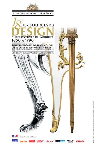 Le 18e aux sources du design, chefs d'oeuvre du mobilier - Page 3 Affich10