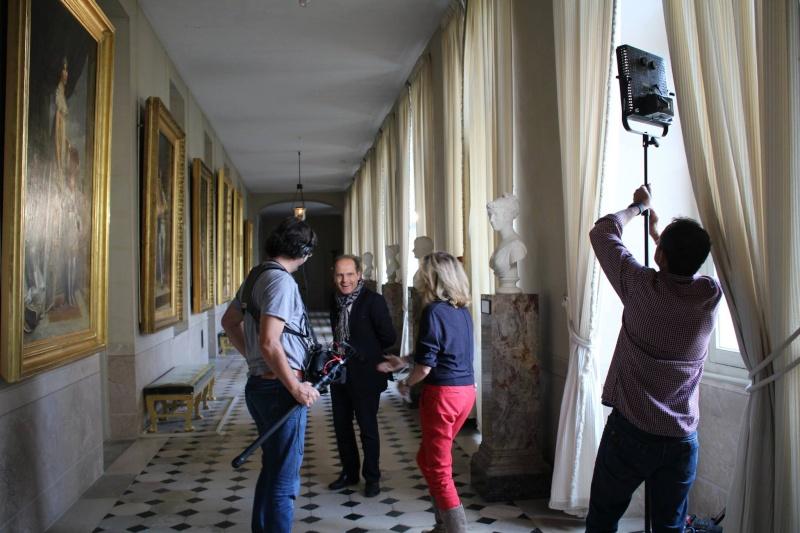 """Tournage de """"secret d'histoire"""" à Fontainebleau Fontai12"""