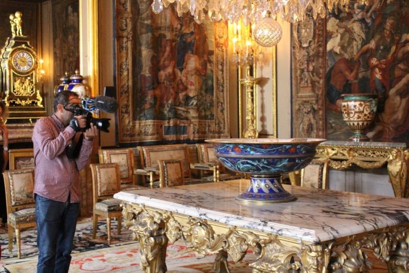 """Tournage de """"secret d'histoire"""" à Fontainebleau Fontai14"""