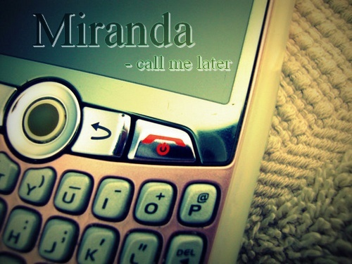 Miranda Tremblay's phone ~  Phone10