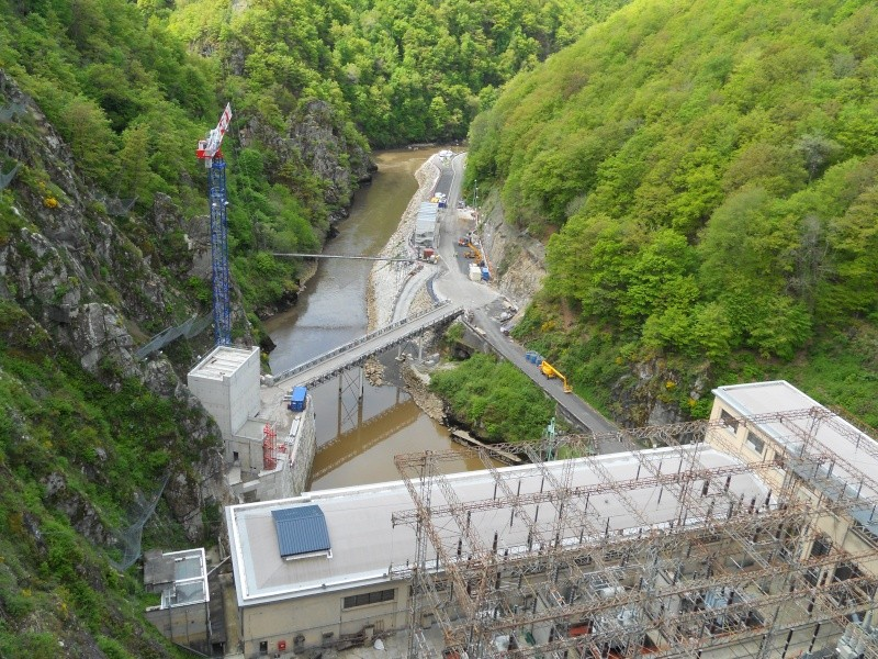 Barrage EDF de Sarrans : la vidange se prépare Dscn1713