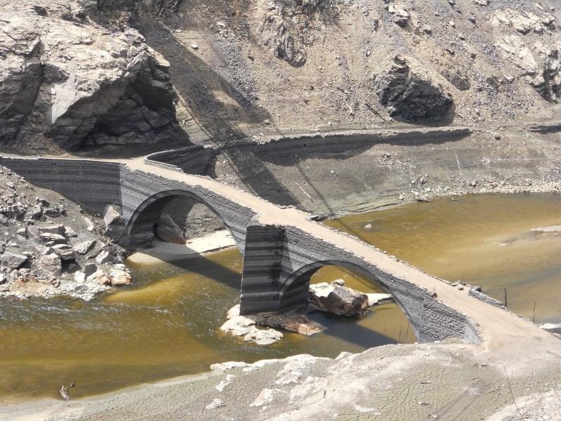 Barrage EDF de Sarrans : la vidange se prépare Dscn1717