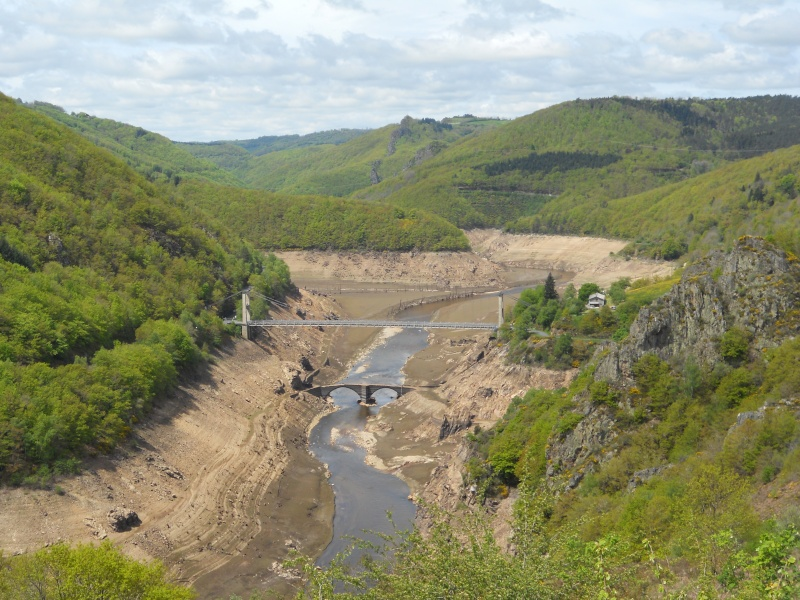 Barrage EDF de Sarrans : la vidange se prépare Dscn1718
