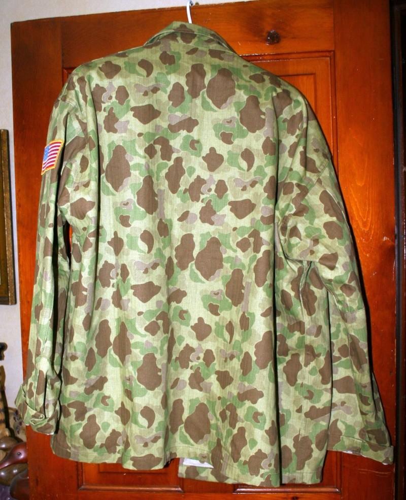 USMC or Army HBT WW2 Camo Original or Reproduction? P44410