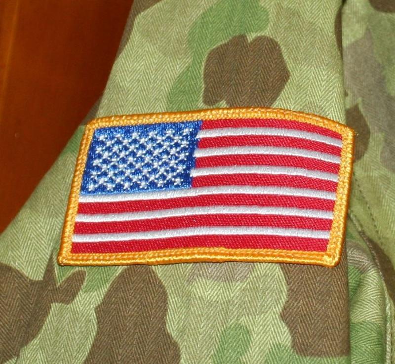 USMC or Army HBT WW2 Camo Original or Reproduction? P44510