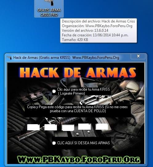 HACK DE ARMAS (SOLO USUARIOS REGISTRADOS) >>>14 DE JUNIO 2014 Hack_a10