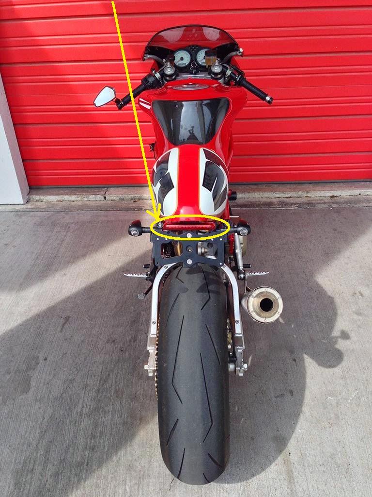 Affutée  Ducati11
