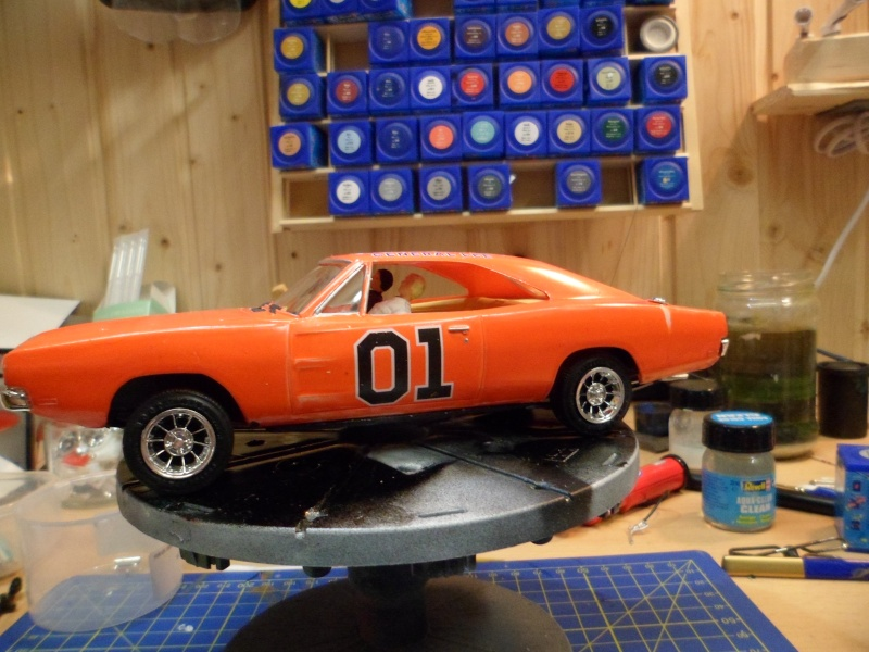1969 Doge Charger 1:25 MPC Sam_2714