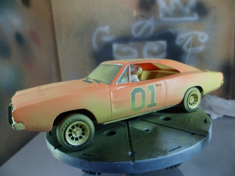 1969 Doge Charger 1:25 MPC Sam_2717