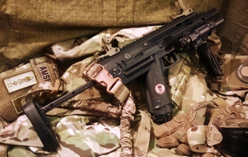 Shroud MP7 pour T8.1 Mp7_210