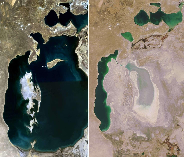 Bateaux échoués en mer d'Aral -  Kazakhstan / Ouzbékistan Aral_s10