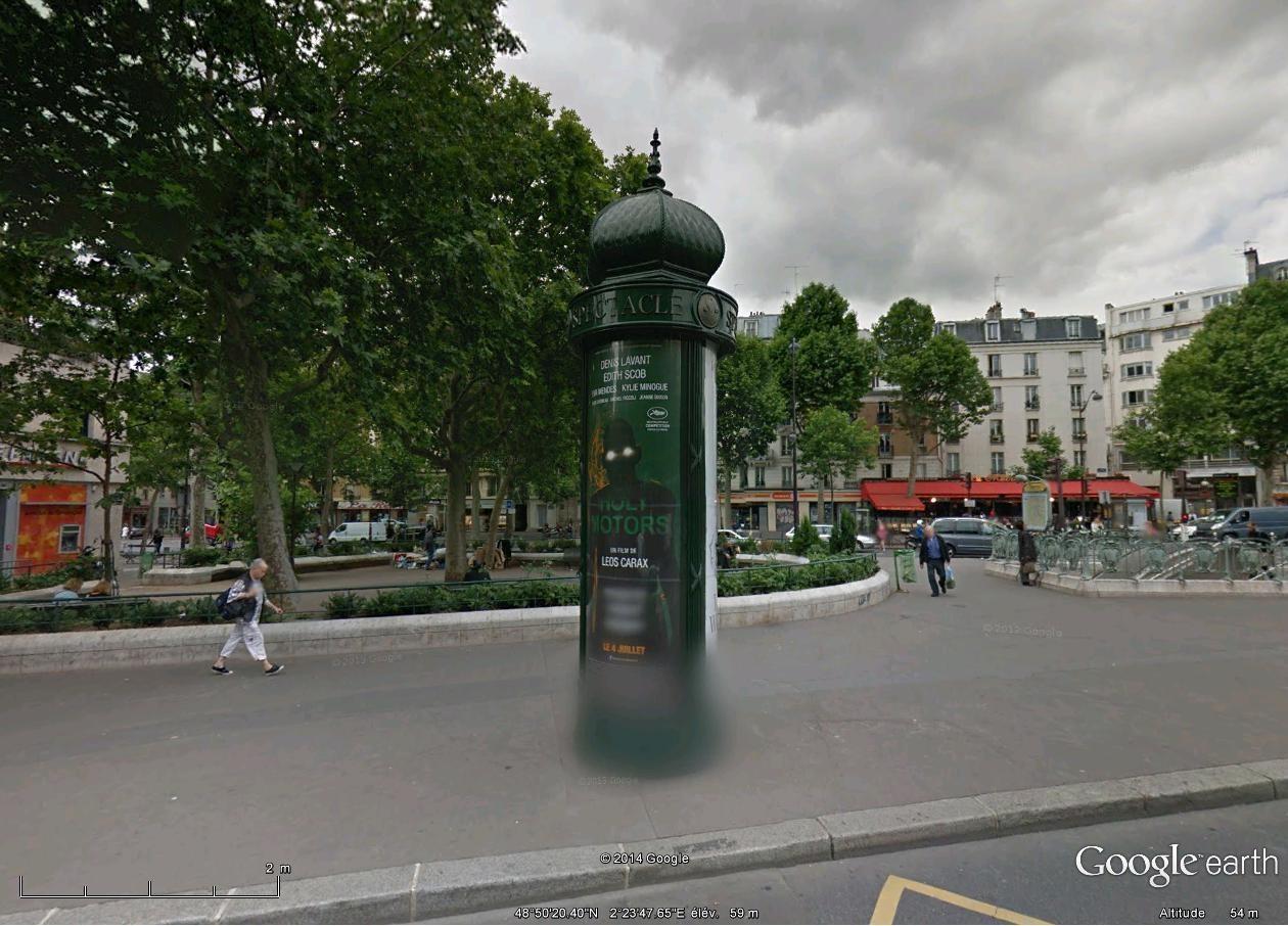 Les colonnes Morris en France Place_10