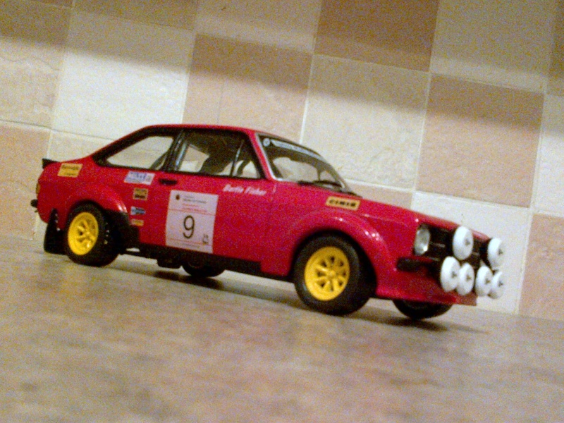 1/18 Fisher MKll CIL 999 (Red Car) up for auction Img-2015
