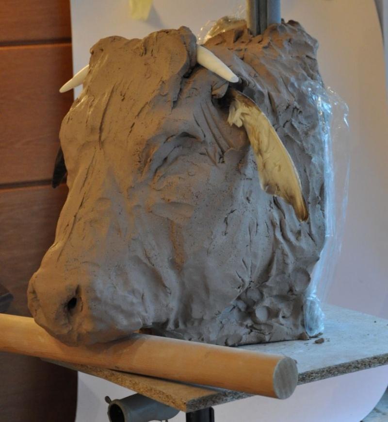 portrait de taureau St510