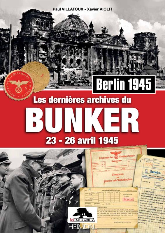 """Führerbunker et """"télégramme Goering"""". Les-de10"""