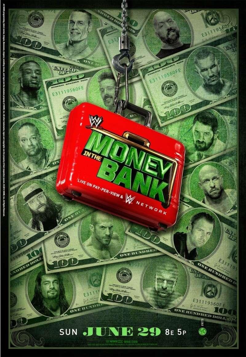 [Article] Concours de pronostics saison 4 : Money in the Bank 2014 Poster12