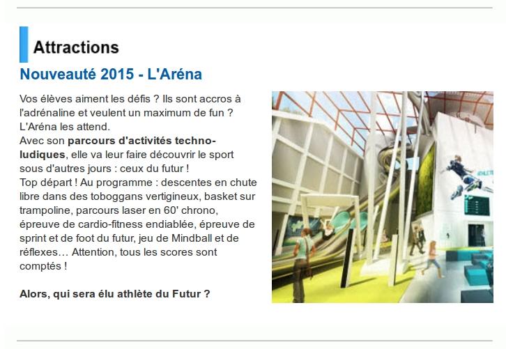 L'Arena Fun Xperiences (Pavillon du Futuroscope) · Février 2015 La_cit10