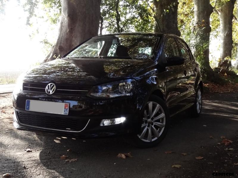 ZZ - VW Polo 1.2 70ch Confortline pack Style Noir Intense - 20/08/2010, achat 24/10/2014 - vente 30/05/2018 Dsc09911