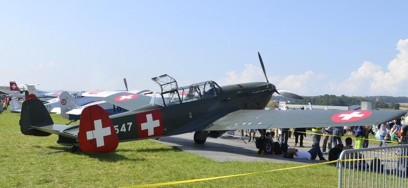 Meeting pour les 100 ans de l'aviation militaire Suisse à Payerne 01111