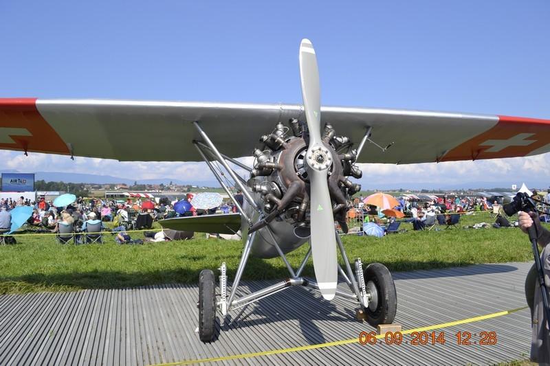 Meeting pour les 100 ans de l'aviation militaire Suisse à Payerne 01410