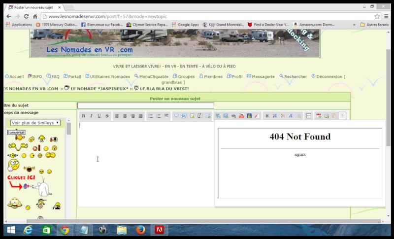 "panne Servimg - Erreur ""404 Not Found nginx"" Screen10"