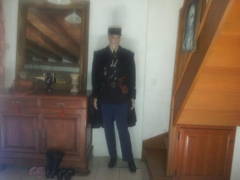 Mannequin Adjudant-chef Gendarmerie nationale 1960 20140810