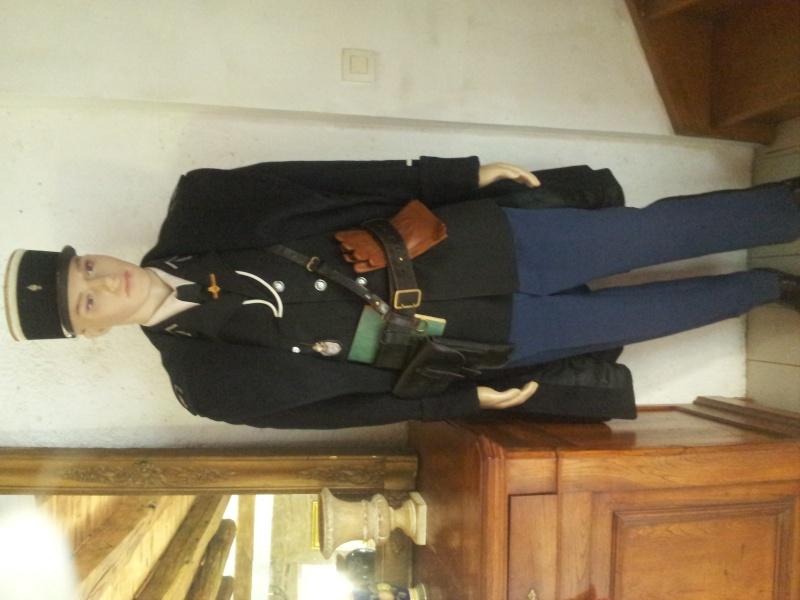Mannequin Adjudant-chef Gendarmerie nationale 1960 20140815