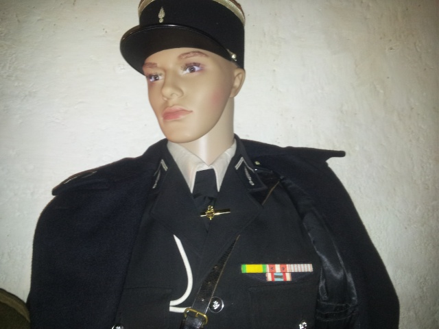 Mannequin Adjudant-chef Gendarmerie nationale 1960 20140819