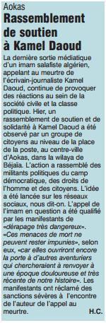 Rassemblement de solidarité avec Kamel Daoud à Aokas mardi 23 decembre 2014 - Page 5 124