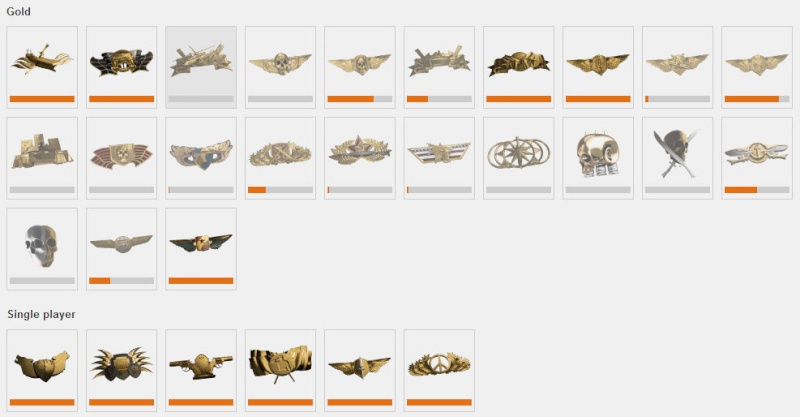 BF4 Assignments completed Road Gold_a10
