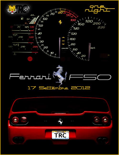 [ONE NIGHT] Ferrari F50 WS ISCRIZIONI F50one10