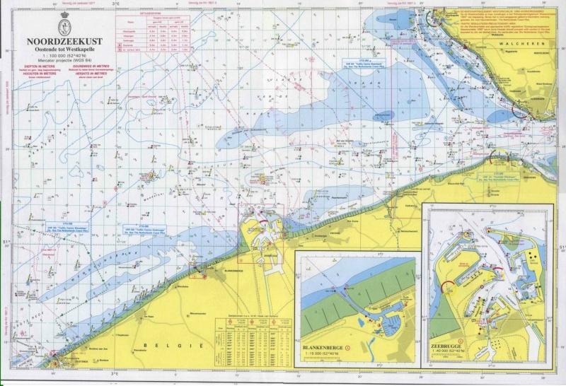 nouvelles carte du port d'Ostende 33166710