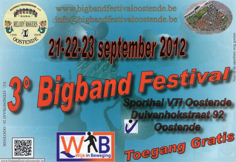 3é Bigband Festival Oostende entrée gratuite Img06110