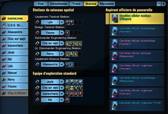 tactique - Build Odyssey tactique Statio11