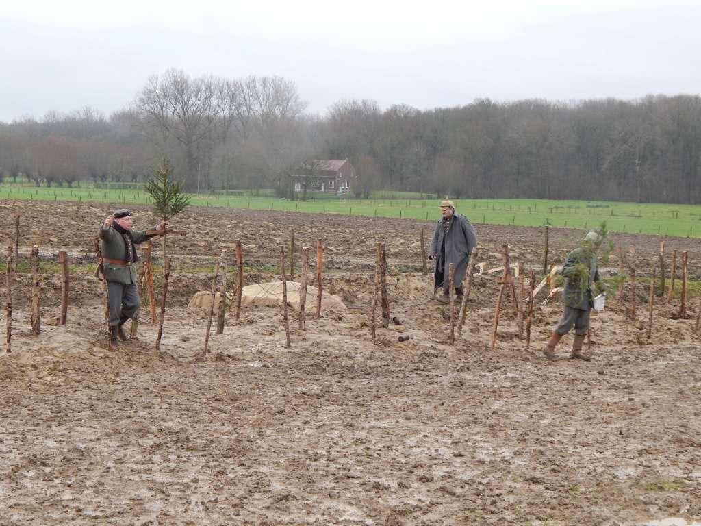 Reconstitution historique de la trêve de Noël à Ploegsteert en Belgique. Dscn0015