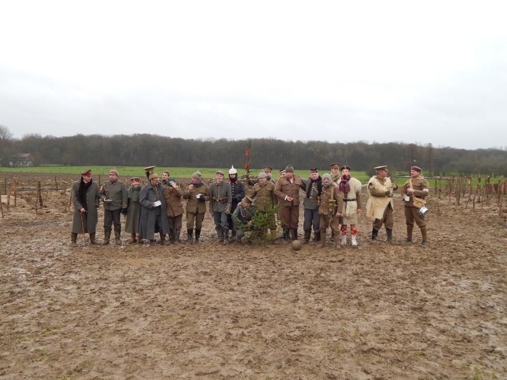 Reconstitution historique de la trêve de Noël à Ploegsteert en Belgique. Dscn0024