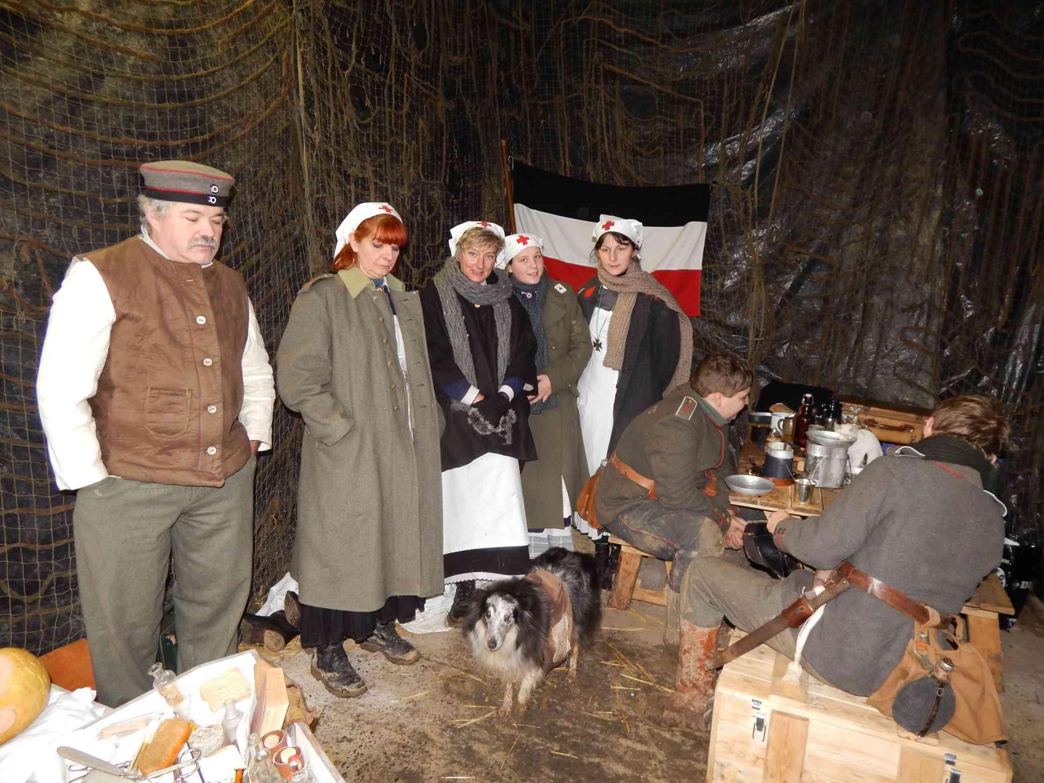Reconstitution historique de la trêve de Noël à Ploegsteert en Belgique. Dscn0027