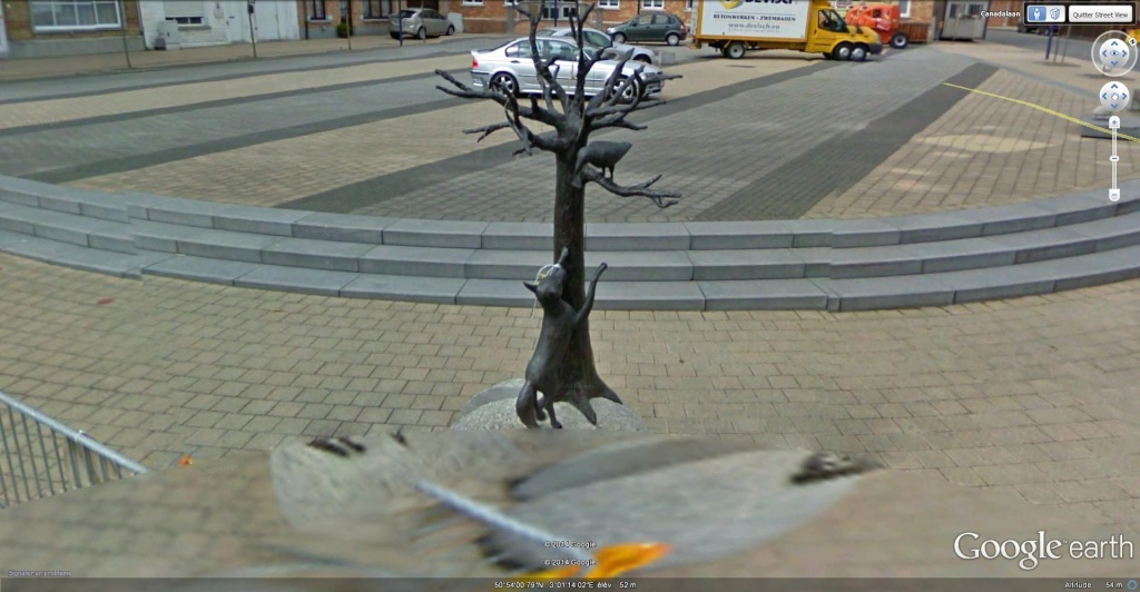 STREET VIEW : Les statues d'animaux dans le monde - Page 3 Passen10
