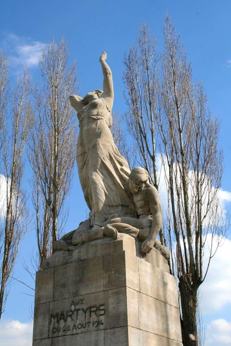 A la découverte des mémoriaux et cimetières militaires - Page 5 Tamine10