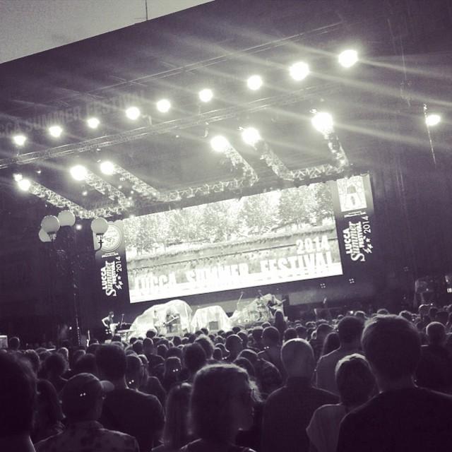 7/26/14 – Lucca, Italy, Piazza Napoleone, ''Lucca Summer Festival'' 1019