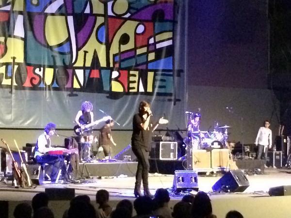 7/20/14 – Rome, Italy, Cavea Auditorium 120