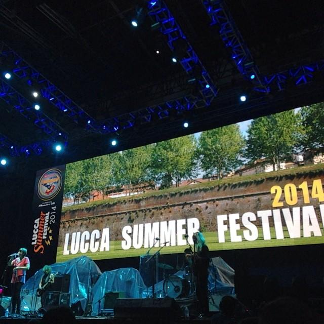 7/26/14 – Lucca, Italy, Piazza Napoleone, ''Lucca Summer Festival'' 2014