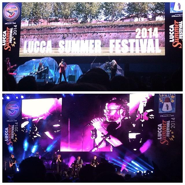 7/26/14 – Lucca, Italy, Piazza Napoleone, ''Lucca Summer Festival'' 2114