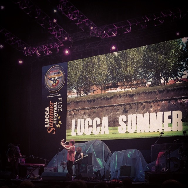 7/26/14 – Lucca, Italy, Piazza Napoleone, ''Lucca Summer Festival'' 2716