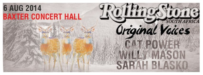 8/6/14 - Cape Town, South Africa, Baxter Concert Hall, ''Rolling Stone Original Voices Festival'' 8-6-1410