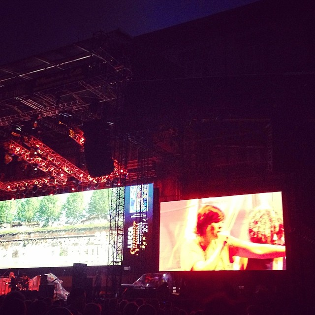 7/26/14 – Lucca, Italy, Piazza Napoleone, ''Lucca Summer Festival'' 818