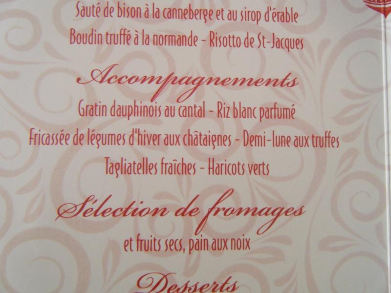 """Restaurants """"bon marché"""" pour le réveillon de Noël et nouvel an - Page 2 Dscf0012"""