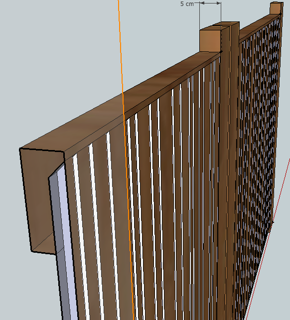 [Projet] Portail battant en bois Captur13