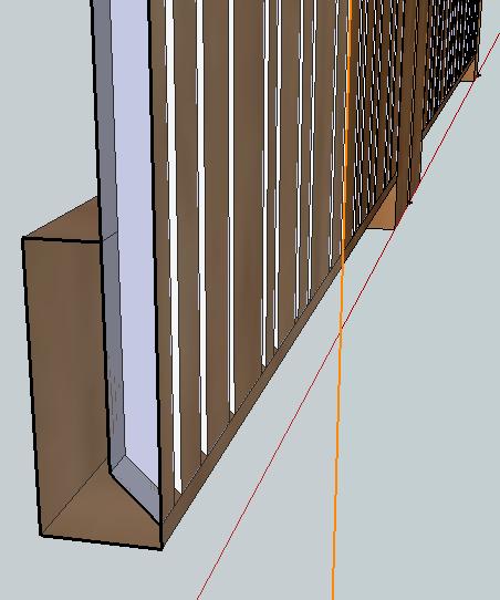 [Projet] Portail battant en bois Captur14