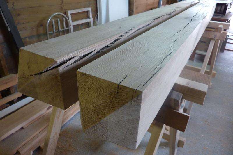[Projet] Pose et traitement de poteaux en bois pour portail en bois Poteau10